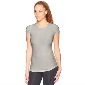 NWT New Balance Ruched Side T-Shirt Size XS